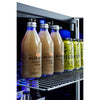 "Image of Summit 24"" Wide Built-In Beverage Cooler SCR2466B"