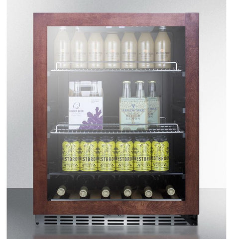 Summit SCR2466PNR Flexible Design Beverage Refrigerator
