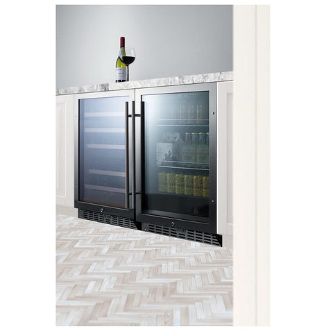 Summit SCR2466 Flexible Design Beverage Refrigerator