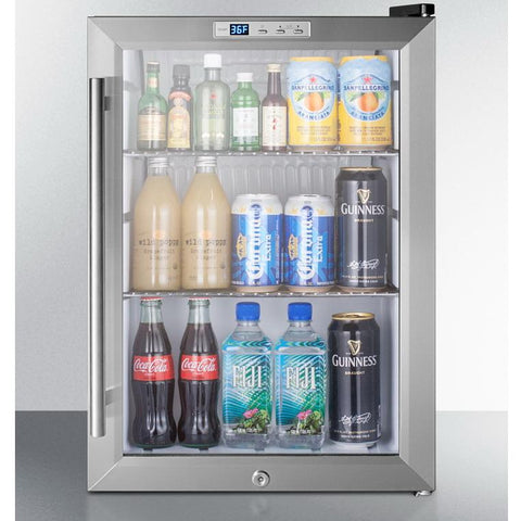 Summit SCR312LBI Slim-fitting Refrigerator