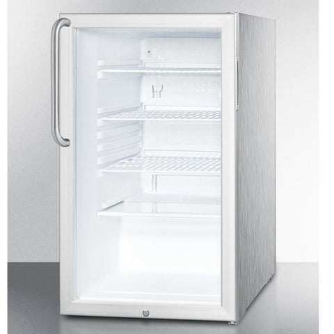 Summit SCR450L7CSSADA Flexible Design Beverage Refrigerator