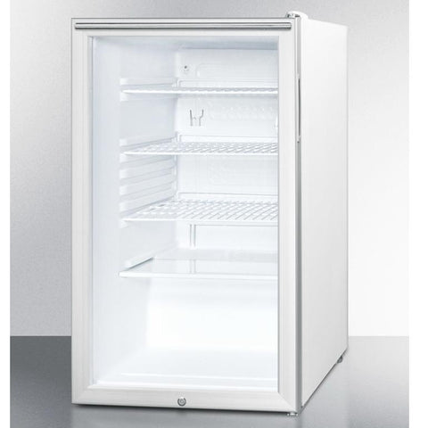 Summit SCR450L7HH Easy-fitting Beverage Refrigerator