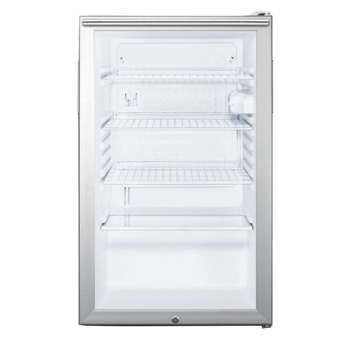 Summit SCR450L7HHADA Easy-fitting ADA Compliant Beverage Refrigerator