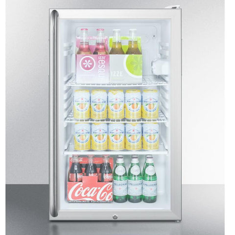 Summit SCR450L7SHADA Easy-fitting ADA Compliant Beverage Refrigerator