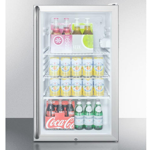 Summit SCR450LBI7SHADA Flexible Design Beverage Refrigerator