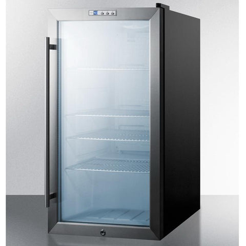 Summit SCR486LBI Attractive and Efficient Beverage Refrigerator