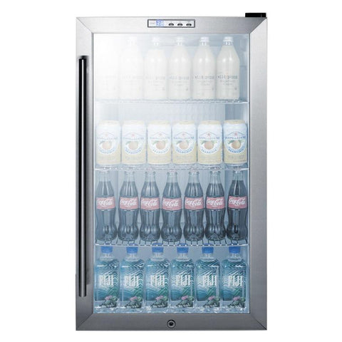 Summit SCR486LBICSS Convenient Style and User-friendly Refrigerator