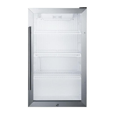 Summit SCR489OS Automatic Defrost Refrigerator and Beverage Cooler