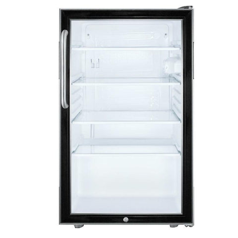 Summit SCR500BL7CSSADA Flexible Design Beverage Refrigerator