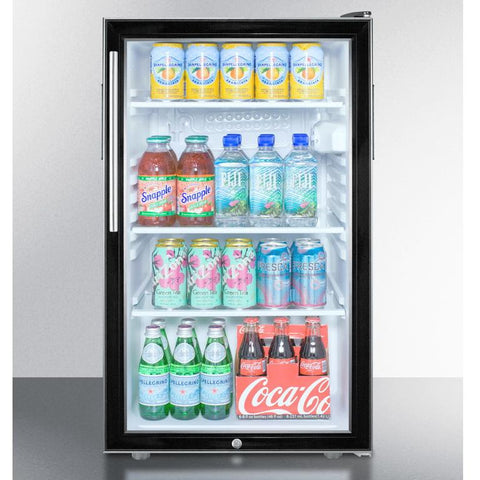 Summit SCR500BL7HVADA Easy-fitting ADA Compliant Beverage Refrigerator