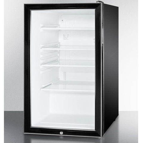 Summit SCR500BL7ADA Easy-fitting ADA Compliant Beverage Refrigerator