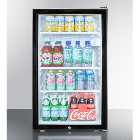 Summit SCR500BLBI7 Flexible Design Built-In Undercounter