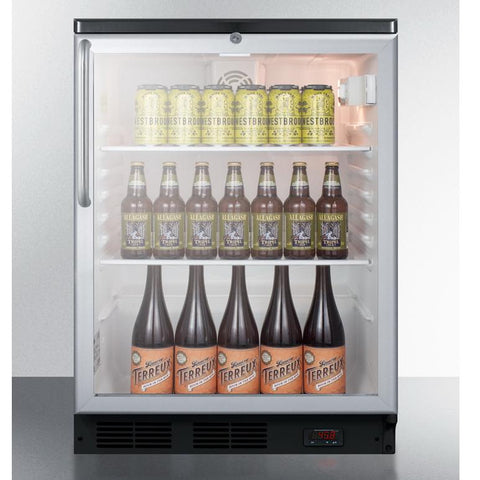 Summit SCR600BGLDTPUBTB Ideal Footprint and Quality Design Pub Cellar