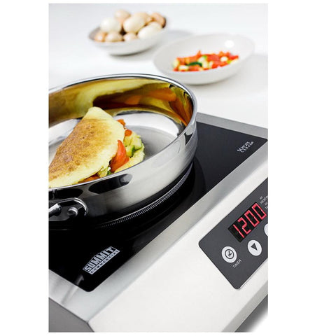 Summit SINCCOM1 Lightweight and Portable Induction Cooktop