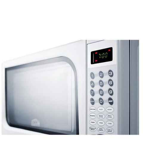 Summit SM901WH Valued Convenience Microwave Oven
