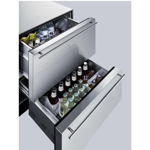 Summit SP6DS2D7 Automatic Defrost Built-In Undercounter