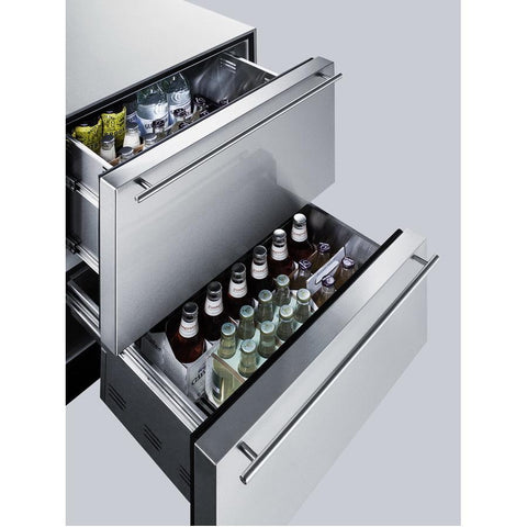 Summit SP6DS2D7ADA Automatic Defrost Drawer Refrigerator