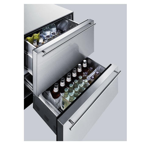 Summit SP6DS2DOS7 Flexible Design Refrigerator and Beverage Cooler