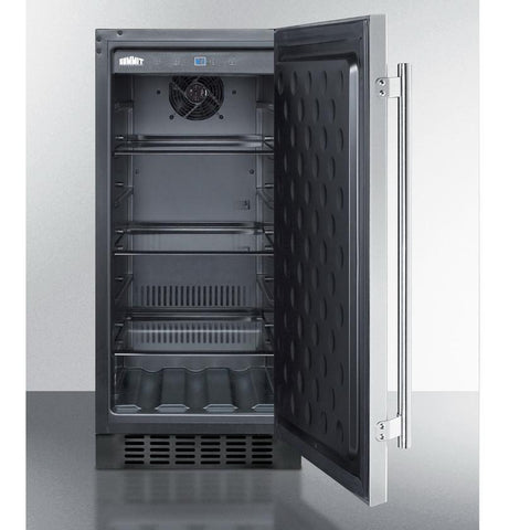 Summit SPR316OS Flexible Design Refrigerator and Beverage Cooler