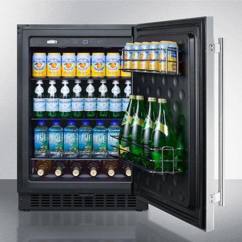 Summit SPR627OS Energy Star Certified Refrigerator and Beverage Cooler