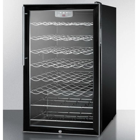 Summit SCW525LHV Slim-fitting Footprint Wine Cellar