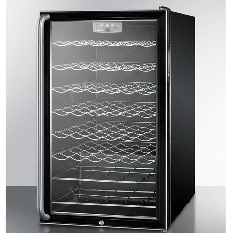Summit SWC525LSH Slim-fitting Footprint Wine Cellar