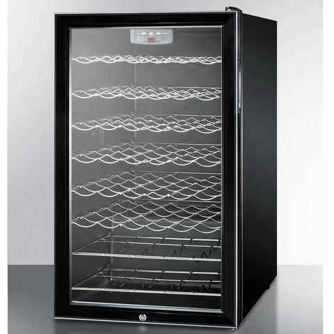 Summit SWC525L7ADA Slim-fitting Footprint Wine Cellar