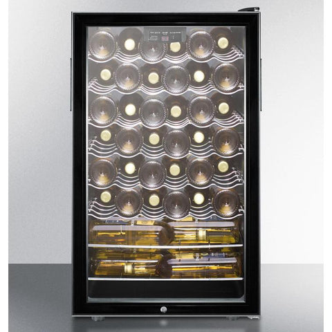 Summit SWC525LADA Elegant Design Wine Cellar