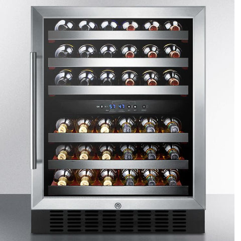 Summit SWC530BLBIST Advance Features and Stunning Design Wine Cellar
