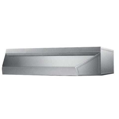 Summit Shell20SS Solid Construction Range Hood