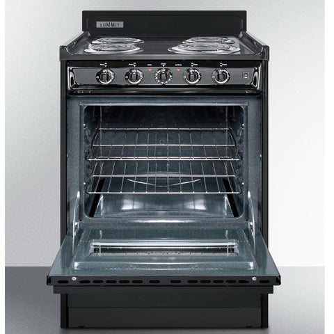 Summit TEM610CW High Quality Construction Electric Range