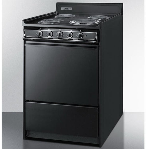 Summit TEM610C High Quality Construction Electric Range