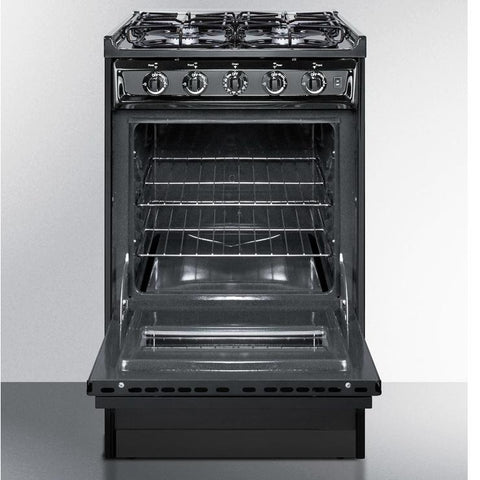 Summit TTM1107CRSW Long-lasting Durability Gas Range