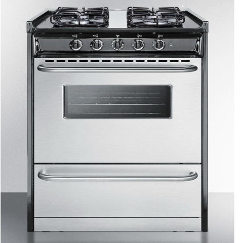 Summit TTM21027BRSW Luxury and Convenience Gas Range