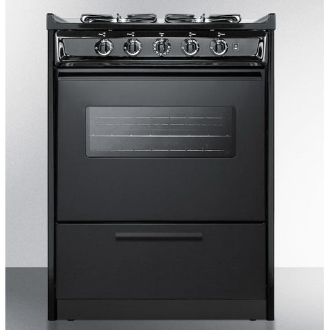 Summit TTM6107CRSW Long-Lasting Durability Gas Range