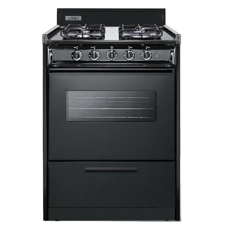 Summit TTM6107CSW Long-lasting Durability Gas Range