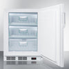 Image of Summit VT65ADA Manual Defrost Built-In Undercounter