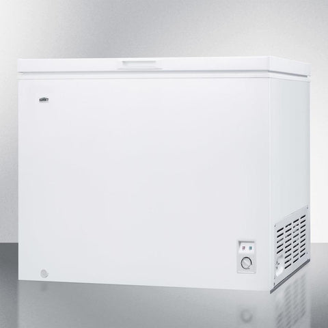 Summit WCH09W Adjustable Thermostat Chest Freezer