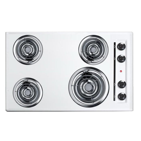 Summit WEL05 Quality Performance Electric Cooktop
