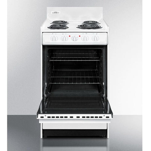 Summit WEM110  True Durability Electric Range