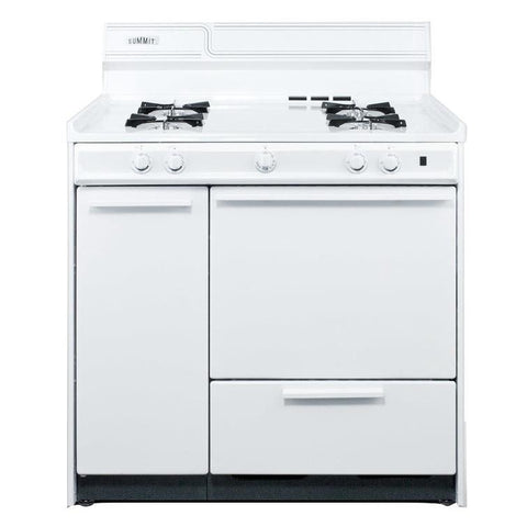 Summit WNM430P Superior Performance Gas Range