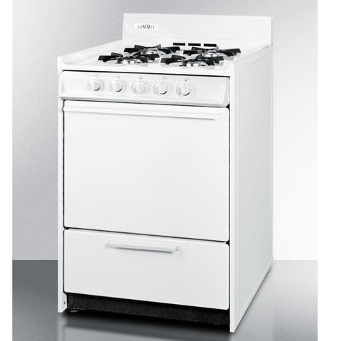 Summit WNM610P High Quality Construction Gas Range