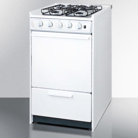 Summit WTM1107RS Long-lasting Durability Gas Range