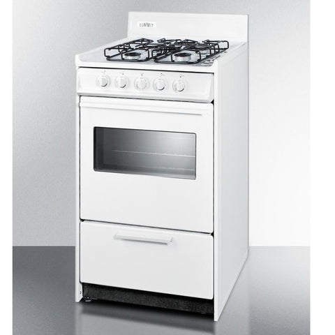 Summit WTM1107SW Long Lasting Durability Gas Range