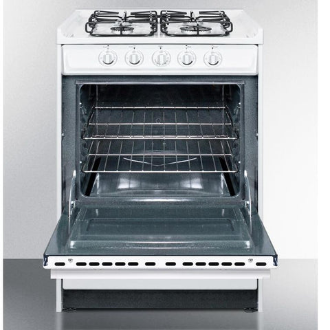Summit WTM6107RS Long-lasting Durability Gas Range