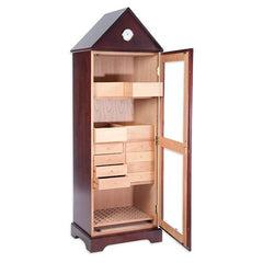 The Verona Tower Cabinet Humidor by Quality Importers