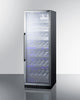 "Image of Summit SCR1401CH 24"" Wide Single Zone Commercial Wine Cellar"