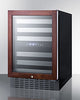 "Image of Summit SWC532BLBISTPNR 24"" Wide Built-In Wine Cellar"