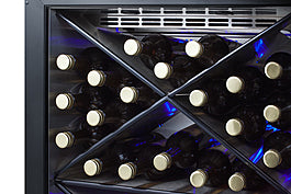 "Summit SCR610BLXCSS 24"" Wide Single Zone Built-In Commercial Wine Cellar"