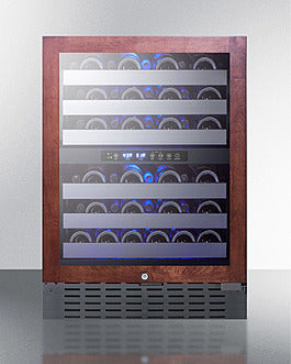 "Summit SWC532BLBISTPNR 24"" Wide Built-In Wine Cellar"
